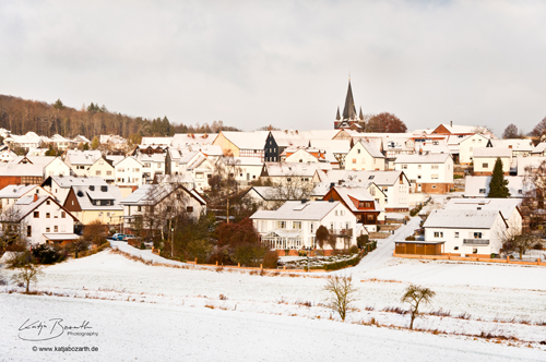 Bauerbach in the Snow